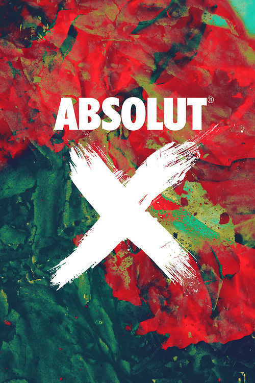 by Michael Chase #absolut poster
