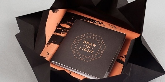 Draw the Light- TheDieline.com - Package Design Blog #packaging #draw #the #folding #light