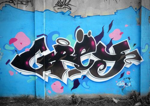LITHROCK #graffiti #letterforms #art #grey