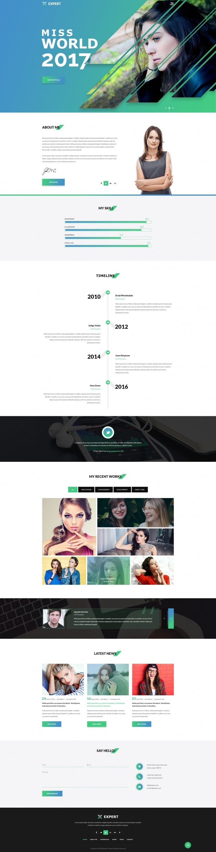 Expert_Personal Profile/Resume