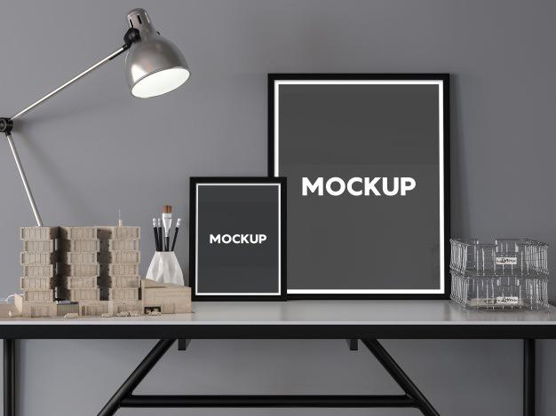 Two frames on a desktop mock up design Free Psd. See more inspiration related to Frame, Mockup, Design, Template, Frames, Office, Web, Website, Mock up, Templates, Website template, Desktop, Mockups, Up, Web template, Realistic, Real, Two, Web templates, Mock ups, Mock and Ups on Freepik.