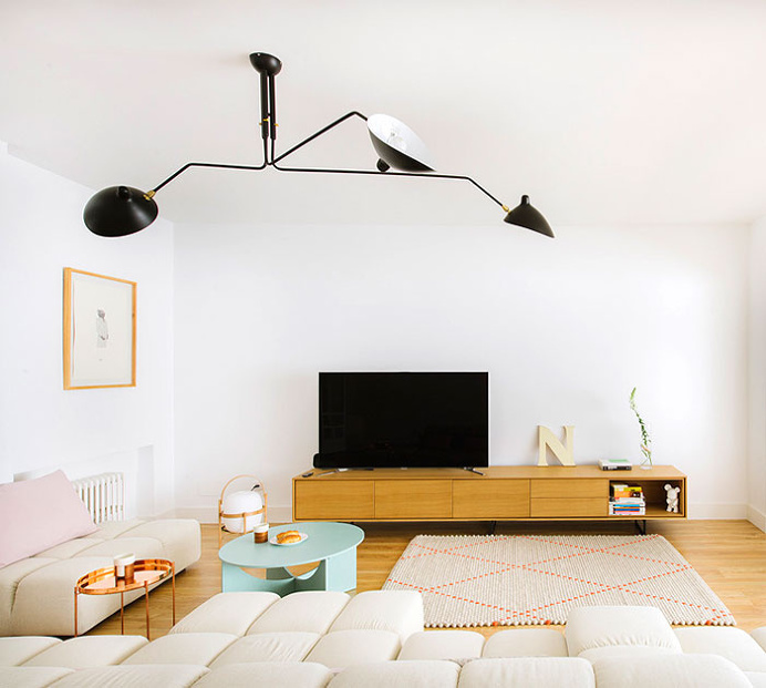 Inspiring Modern Apartment in Madrid by Nimu Studio - #decor, #interior, #homedecor,