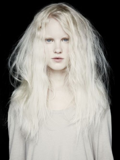 moldavia: Linn Arvidsson by Cari Vuong #white #girl #photo #albino #portrait