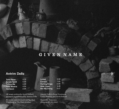 Given Name #album #given #name #art #music