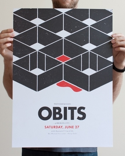 Orbits « stream of consciousness #event #black #shape #obits #poster #type
