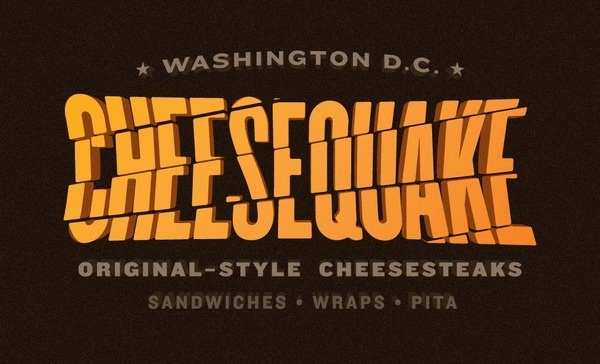 CHEESEQUAKE #truck #quake #dc #cheesesteak #cheese #washington #food