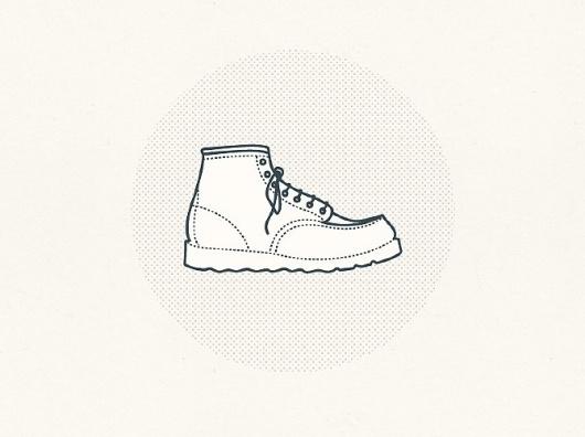 Tim Boelaars #icon #illustration #shoe