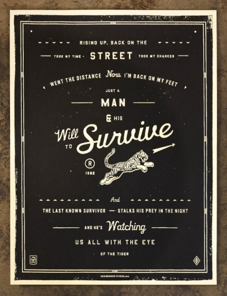 Lyric Prints by The Neighbourhood Studio | Incredible Types #artwork #lyrics