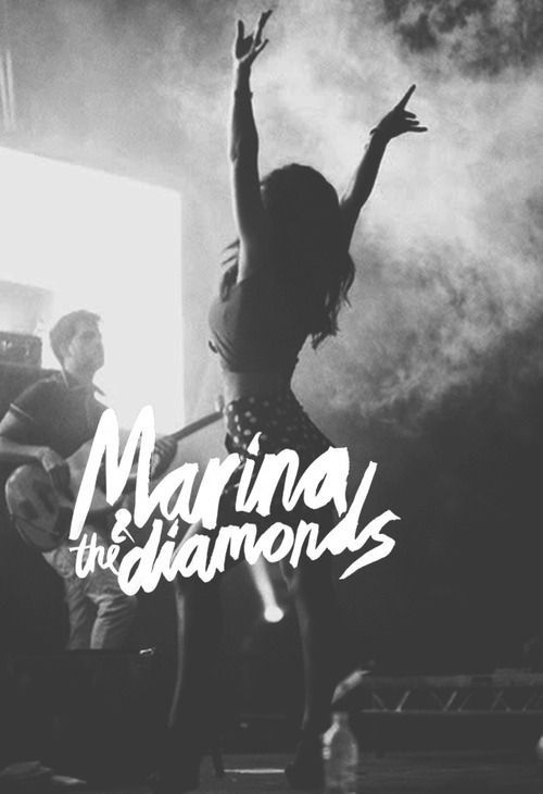 Marina & the Diamonds #lettering #psoter
