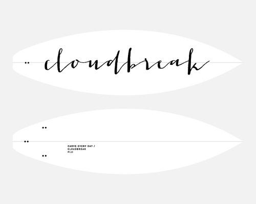 Week 27 2012 — Fiftytwo #calligraphy #type #surfboard #hand