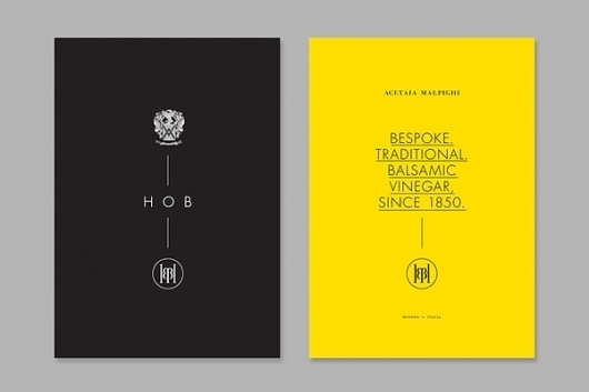 House Of Balsamic on the Behance Network #design #graphic #branding
