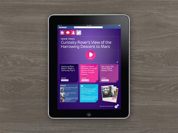 Digital design for website, phone and tablet app. #self #ipad #tablet #app #service #purple