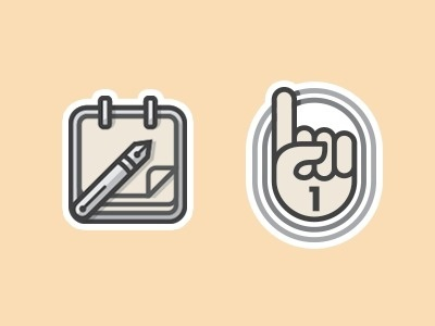 Dribbble - Recreate The Date by Mackey Saturday #line #vector #calendar #icons #illustrations