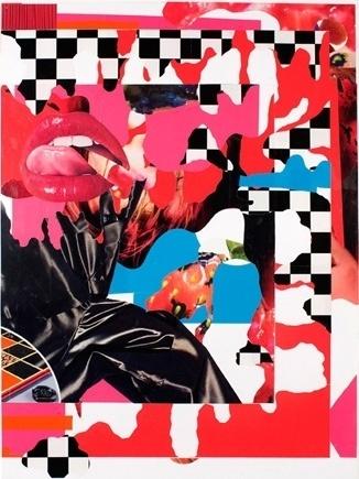 Bjorn Copeland > Artwork: Mouth Dissolve #collage #copeland #bjorn
