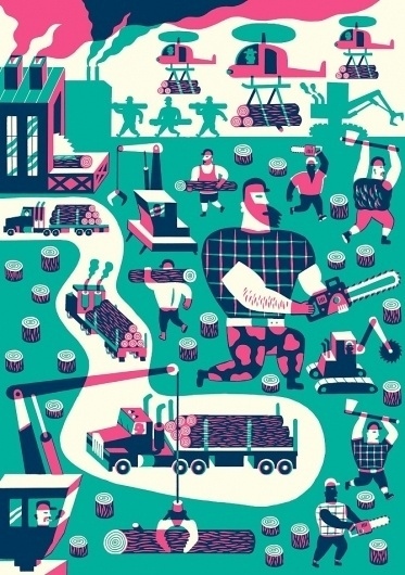 illustration - Till Hafenbrak Illustration #illustration