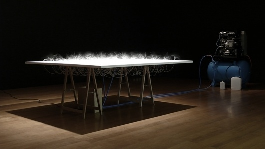 Z I M O U N #zimoun #table #kinetic #art