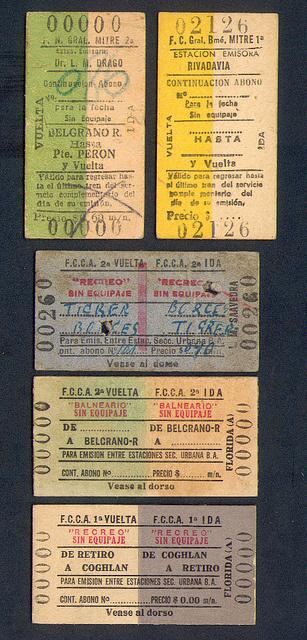 Tickets #vintage