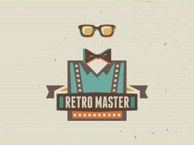 Dribbble - Retro Master by szende brassai #retro #brand #master #vintage #logo