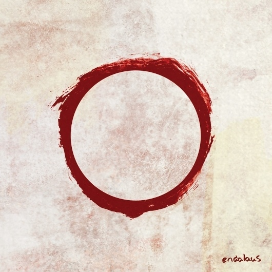 Endalaus_cover.jpg (1200×1200) #album #red #clean #illustration #circle