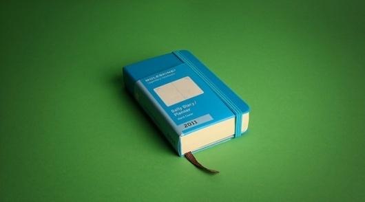 Google Reader (4) #notebook #blue #moleskin #green
