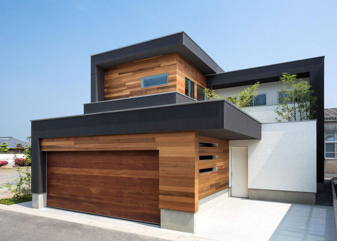 Wooden Nuances Defining the M4 House in Nagasaki, Japan #wood #architecture
