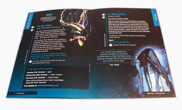 Dance City Brochure Design #print #design #layout #illustration