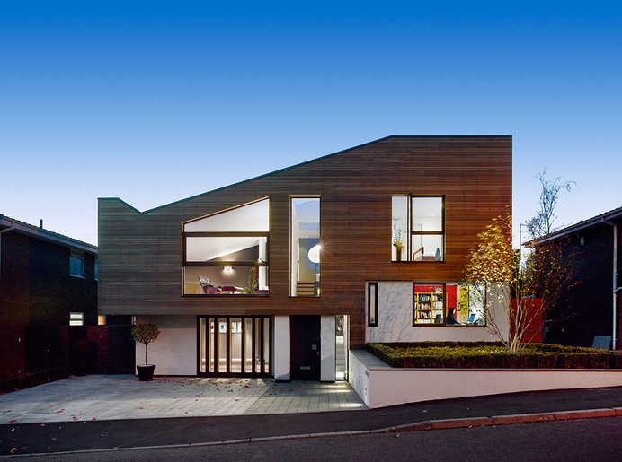 Modern and Warm Home With External Cladding by Stephenson ISA Studio Read more: http://freshome.com/architecture/#ixzz388hqyXAd