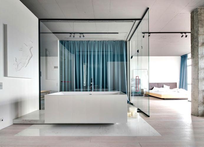 32 Apartment in Kiev by 2b Group - interior design, interior, #decor, home decor, home #design, #interiordesign, #bathroom
