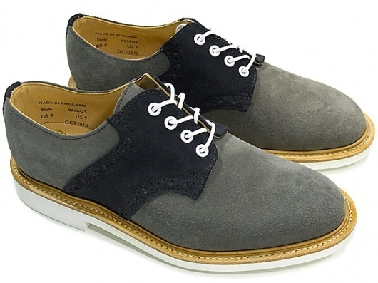 The-Glade - Mark McNairy New Amsterdam Two Tone Saddle Shoe #mark #mcnairy #shoes