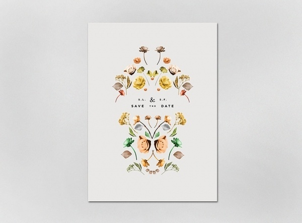 Invitations (updated) - Lisa Hedge #invite #wedding #minimal #flowers