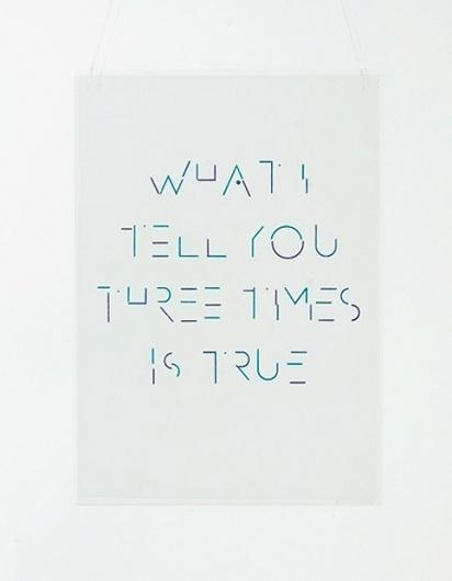 ghazaalvojdani.com - What I Tell You Three Times is True #type