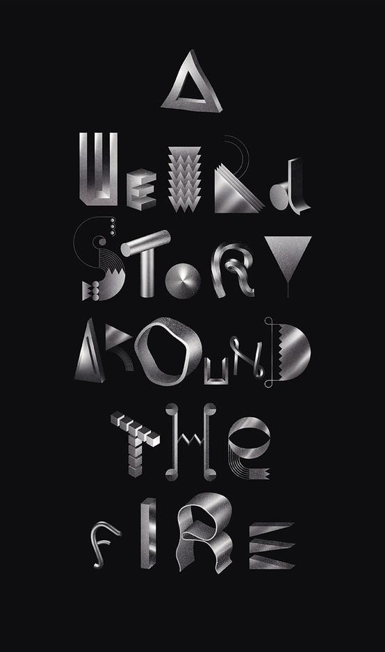 Typography inspiration #type #design #graphic