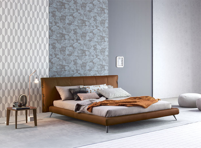 Bonaldo in Mad Men Style - bedroom, bedroom design, bed, bedroom decorating, #bedroom