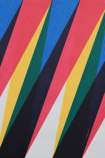 It's Nice That : Sebastian Wickeroth champions the humble felt-tip as abstract art #marker #abstraction #sebastian #geometric #felt #art #wickeroth #tip