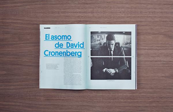 manifesto futura #print #spread #layout #editorial #magazine