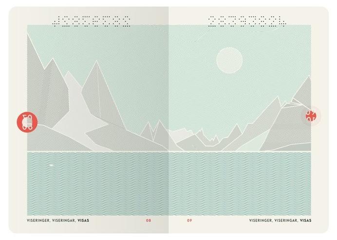 Norwegian Passports by Neue Studio