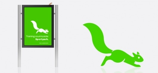 iconwerk custom icon design + pictogram design #park #identity #squirrel #cutout