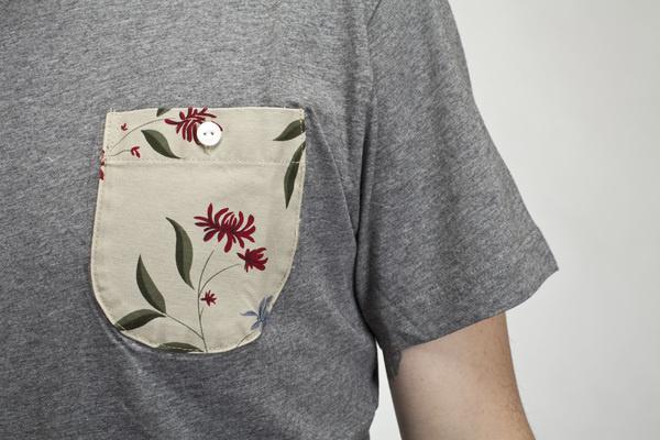 IMG_9611 #floral #pocket #shirt #tee #grey