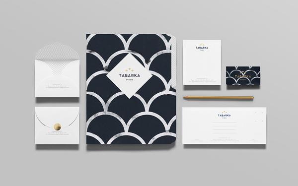Tabarka Studio on Behance #print #stationary