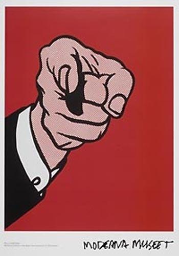 Moderna Museet Webshop - Roy Lichtenstein #moderna #roy #museet #poster #lichtenstein