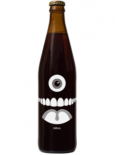Craig & Karl - Nelson #beer #bootle #packaging #eye #illustration #mouth