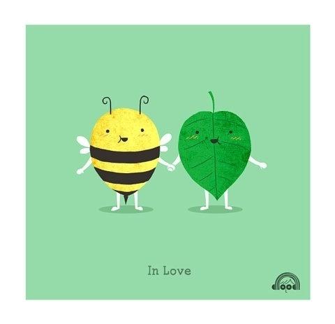 FFFFOUND!   Day 106: Believe in Love   Flickr - Photo Sharing! #illustration