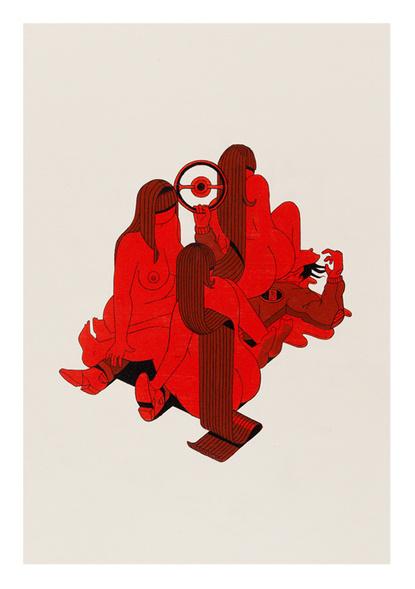 Baubauhaus. #red
