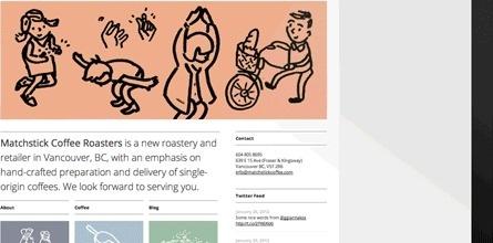 Matchstick Coffee Roasters | Vitae Design #branding #packaging #design #illustration #coffee