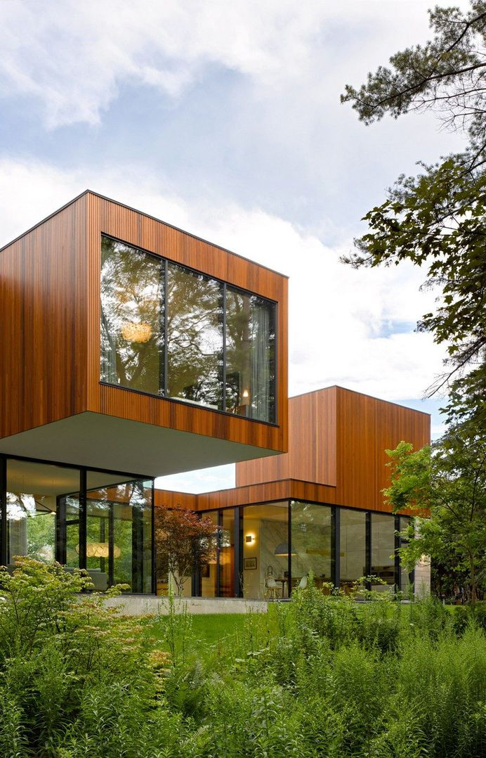 An Intergenerational Home Conceived by Williamson Williamson as Two Distinct Residences