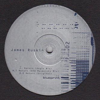 JAMES RUSKIN / REGIS Return (Regis Mix) image #vinyls #packaging #design #graphic #sleeve #vinyl #cd