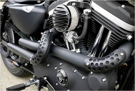 HARLEY SPORTSTER CUSTOM | BY ROUGH CRAFTS #motorcycles