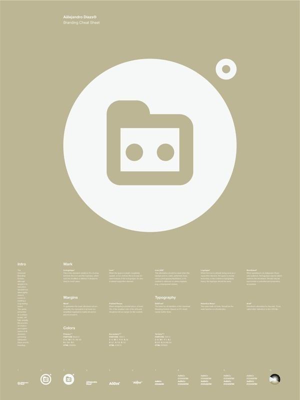 Universal Branding System Poster (Axc3xa4lejandro Dxc3xadazs) #inspiration #creative #information #branding #icon #design #graphic #grid #system #poster #logo #typography