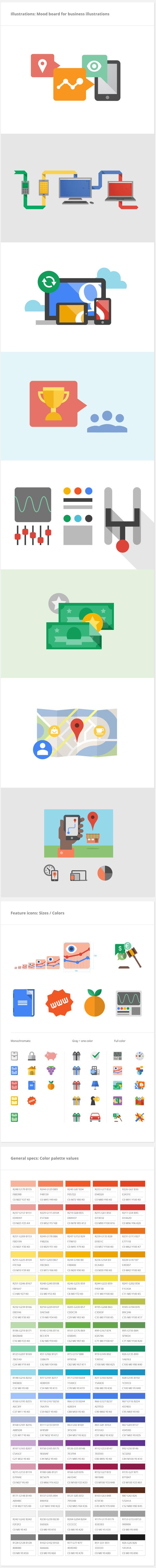 Google Visual Assets Guidelines Part 2 on Behance #google