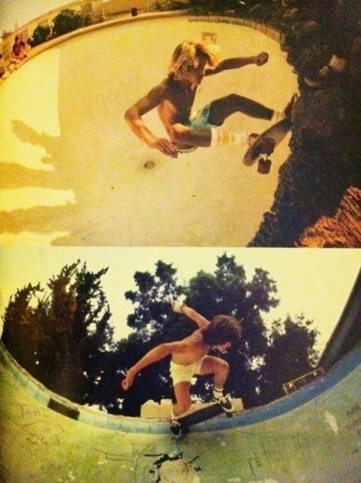 AHONETWO #70s #skateboard #pool #summer #socks #california